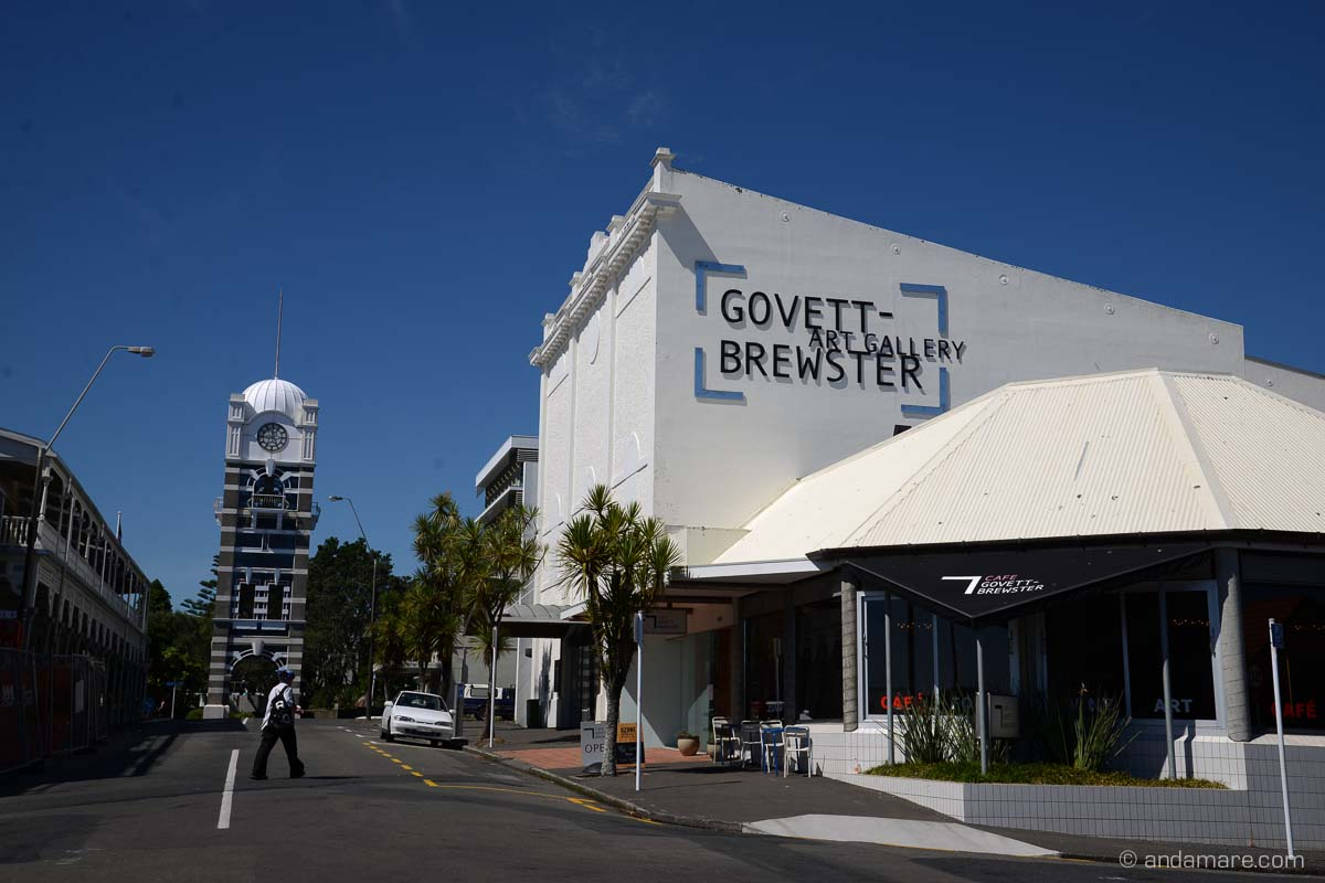 Cafe Govett-Brewster