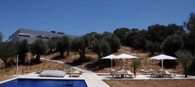 Villa Extramuros, a design bed and breakfast in Arraiolos