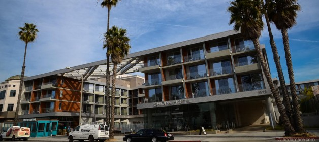Los Angeles Santa Monica: Shore Hotel on Ocean Avenue
