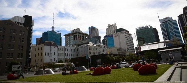 Auckland: Restaurants, Coffees and Bars in Britomart