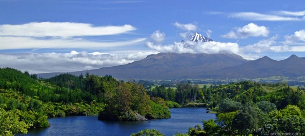 Where we are: Mt. Taranaki, New Plymouth