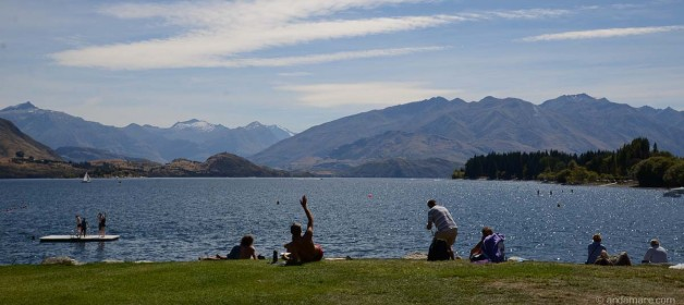 Where we are: Lake Wanaka