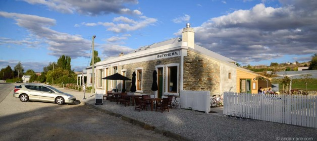 Rest and eat at Pitches Store in Ophir, Central Otago